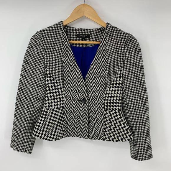 b55f97e6 Ann Taylor Jackets & Blazers - Ann Taylor Blazer Suit Jacket Herringbone  Peplum